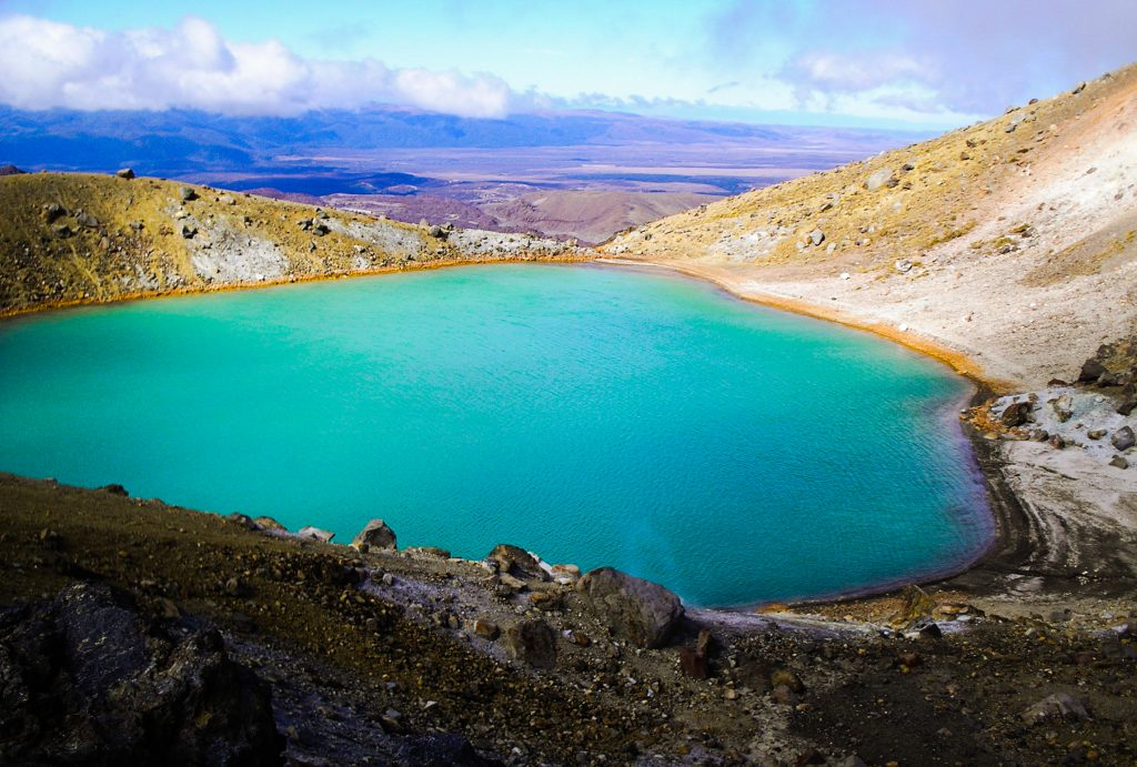 Emerald Lake Tongariro
