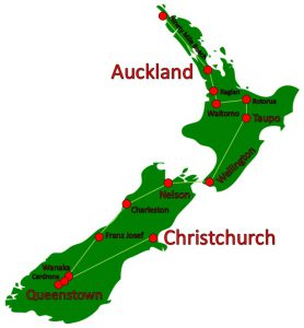 New Zealand Holiday Route