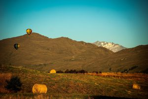 hot air ballooning New Zealand